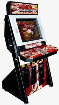 Tekken 5 Arcade Machine