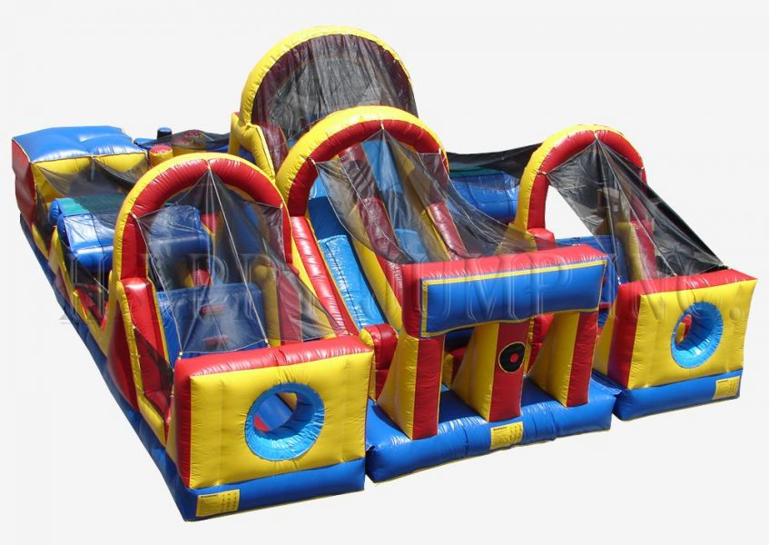 3-Piece-Obstacle-Course Rental