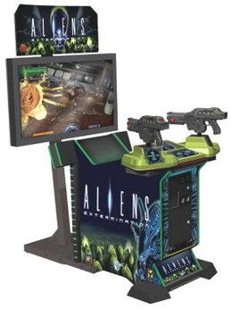 Alien Extermination Arcade Machine
