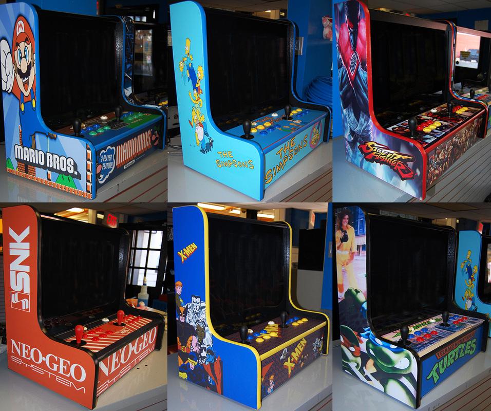 Bartop Tabletop Arcades