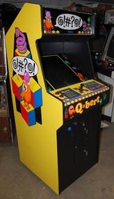 Q-Bert Video Arcade Machine