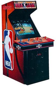 NBA Jam 4 Player Arcade Machine