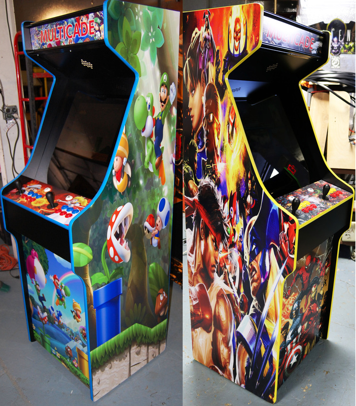 Custom Mario Arcade Cabinet