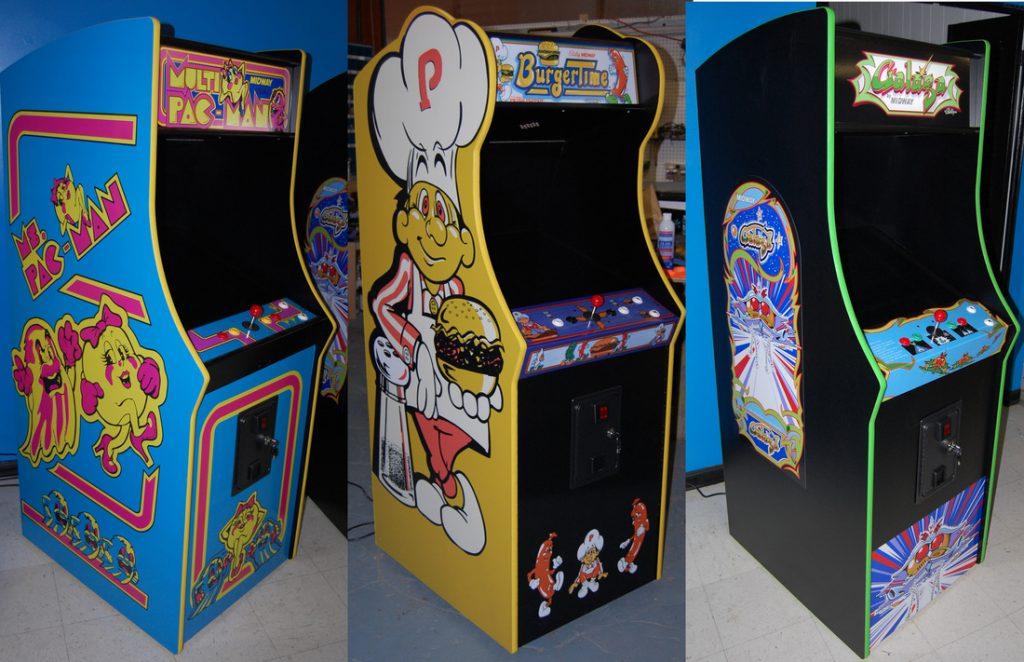Custom Galage Arcade Cabinet