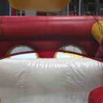 Moon Bounce Obstacle Course