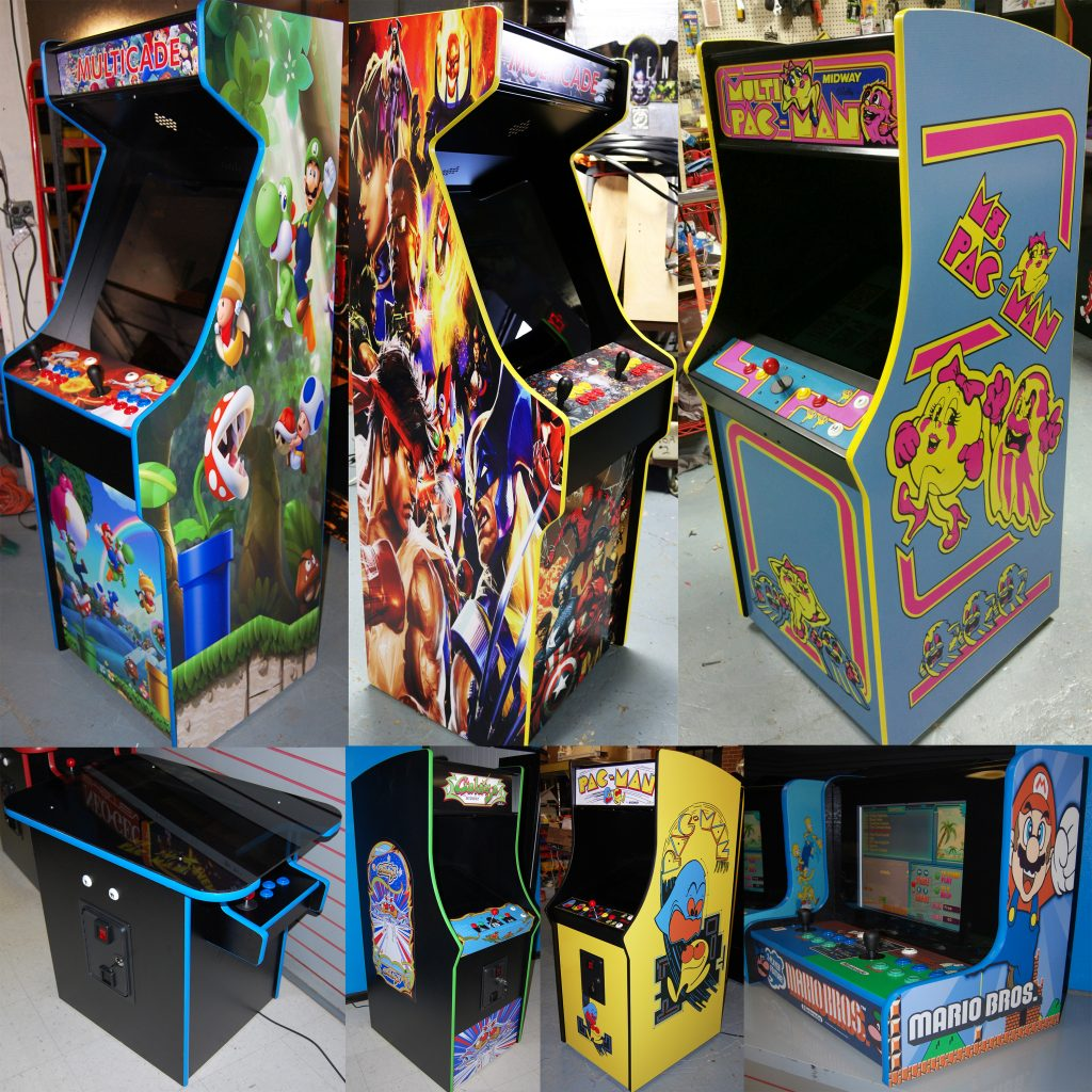 Multicade Arcade Machines