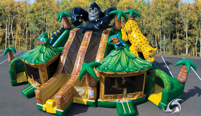 Rain Forest Combo Inflatable Rental