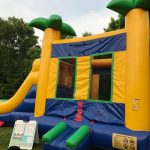 Tropical Combo Bounce House Rental