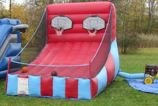 Basketball Inflatable Rental