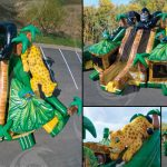 Gorilla Inflatable Bounce House Rental