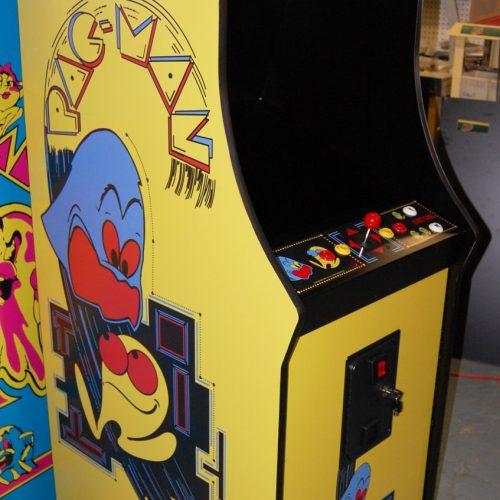 Pac Man Multicade Arcade Cabinet