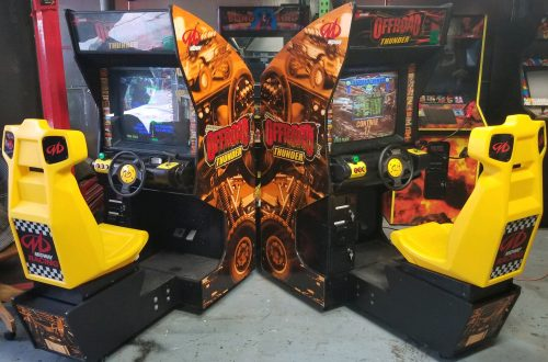 2 OffRoad Thunder Arcade Machine