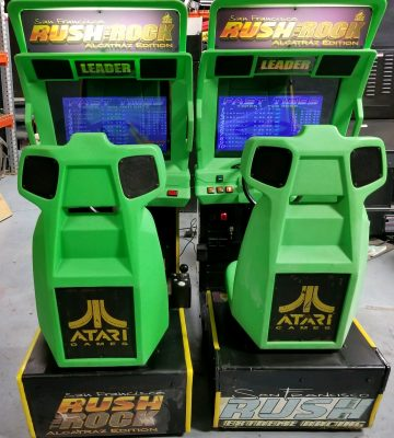 San Francisco Rush the Rock Arcade